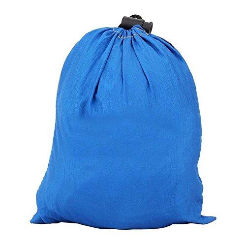 HQS® Genießen Sie den tragbaren Parachute Nylongewebe -Reisen Camping Hammock Für Doppel Zwei - 3
