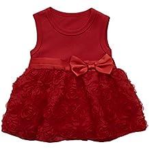 Vestidos de fiesta rojos amazon