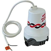 Profesional de la bomba sumergible hasta 8400 l / h, 12V DC, ideal para los barcos y yates