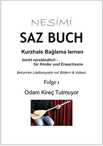 SAZ BUCH - Kurzhals Baglama lernen