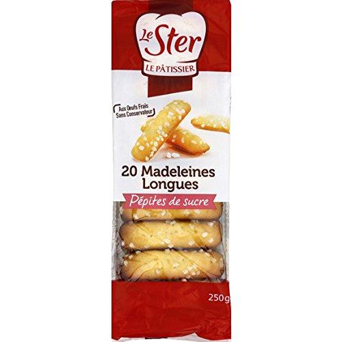 le ster Madeleines longues aux pépites de sucre - ( Prix Unitaire ) - Envoi Rapide Et Soignée