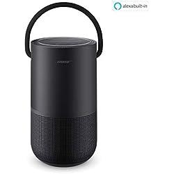 Bose Portable Home Speaker - avec Contrôle Vocal Alexa Intégré, Noir