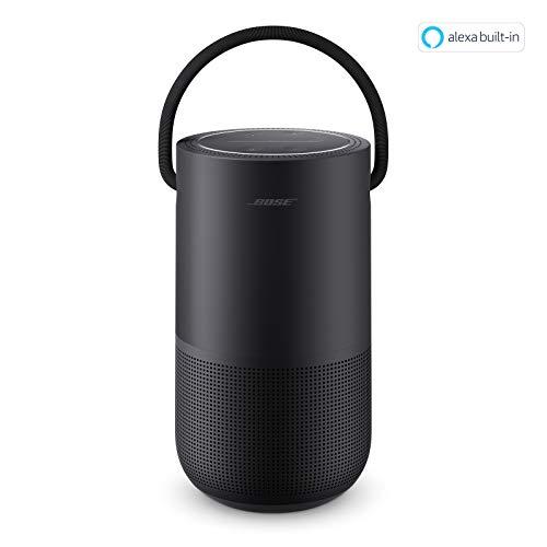 Bose Portable Home Speaker - mit integrierter Alexa-Sprachsteuerung, in Schwarz