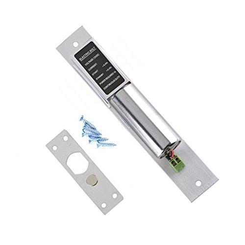 Gazechimp Elektrische Tropfen Bolzen Türschloss DC12V Türriegelschlösser Automatische Türriegel mit Magnet Induktion für Sicherheitszugriff Kontrollsystem