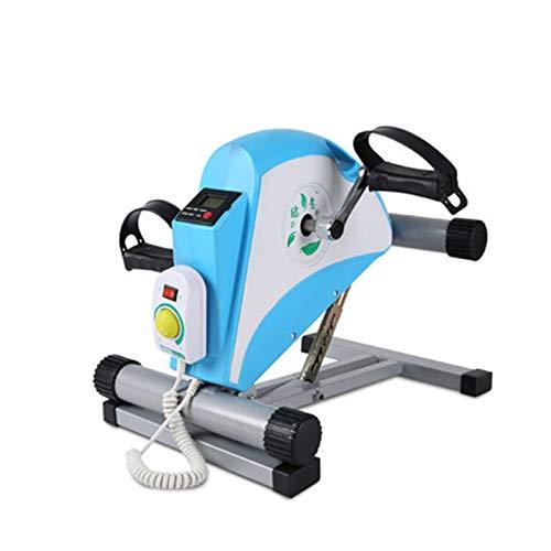 MEYLEE Elektro-Pedal-Übungsgerät - Stationärer Beinüberträger - Geringe Auswirkung, tragbares Mini-Fahrrad - Schlankes Design für Arm oder Fuß - Klein, Sitdown-Liegerad-Ausrüstungsmaschine,c