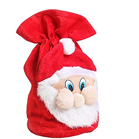 Nuovo Di Natale Decorazione Per La Casa Sacchetto del Regalo di Natale Babbo Grande Sacco Calza Grande (37cm*55 cm)