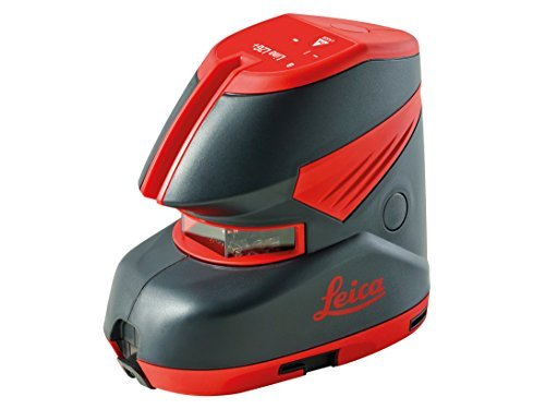 Leica L2+ Cross Line Laser Self Leveling Horizontal Vertical 180-Degree, Red by Leica -