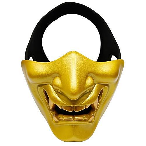 Outdoor Sport Airsoft Paintball Maske Hannya Halloween Masken Paintball CS Spiel Jagd Party Prop Maske Cosplay Prajna Hannya Phantom Maske Schutzbrille Tactic