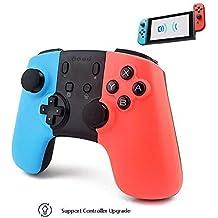 Mando Inalámbrico para Nintendo Switch,Controller Nintendo Switch con Gyro Axis Dual Shock Vibration Mandos
