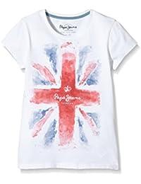 Pepe Jeans London Camiseta Manga Corta Girls Edition T Blanco