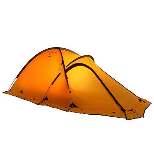 Preisvergleich Produktbild Jingzou Camping Zelt Outdoor Produkte Doppel Doppelschicht Pole vier Jahreszeiten Alpine beschichteten Silizium Zelt 210*120*100cm