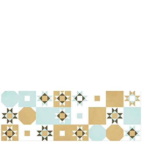 laroom-14167-alfombra-vinilica-de-cocina-baldosas-desierto-140-cm-color-verde-marron