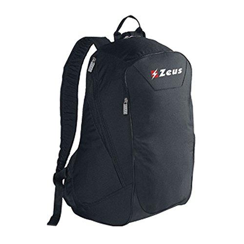 Zeus Zaino All In Herren Rucksack Daypack Backpack Fußball Umhängetasche 38 x 24 x 48 cm (BLAU) SCHWARZ