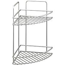 Metaltex Reflex - Rinconera, 2 pisos, 35 x 23 x 23 cm