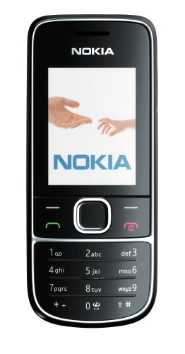 Nokia 2700 classic jet Handy (E-Mail, Bluetooth, GPRS, MP3, 2MP Kamera) black