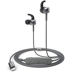 Anker SoundBuds Digital IE10 Lightning Kopfhörer In-Ear mit Verstellbaren Klangmodi - High Resolution Klang, MFi Zertifiziert, IPX5 Wasserfest mit Inline-Mikrofon und Fernbedienung für iPhone, iPad, iPod.