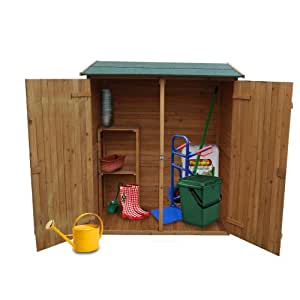 Abri de jardin cabane outils en bois rangement ext rieur xxl jardin - Cabane a outil ...