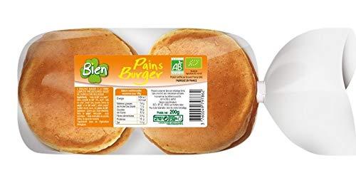 Bien - Pains Burger 200G Bio - Lot De 4 - Prix Du Lot - Livraison Rapide En France Métropolitaine Sous 3 Jours Ouverts