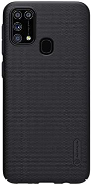 SAMSUNG M31 CASE COVER,Nillkin Frosted Shield Case Compatible with Samsung M31, Easy Grip Anti-Slip Hard Case