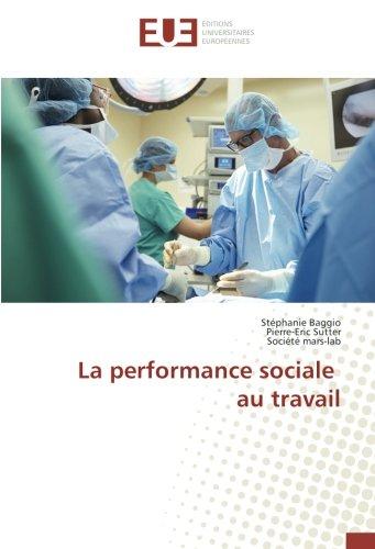 La performance sociale au travail