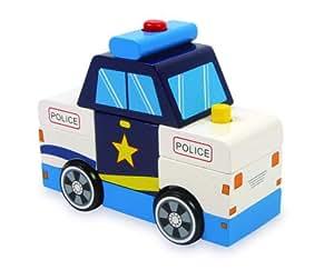 Small Foot 6128 - Polizeibus