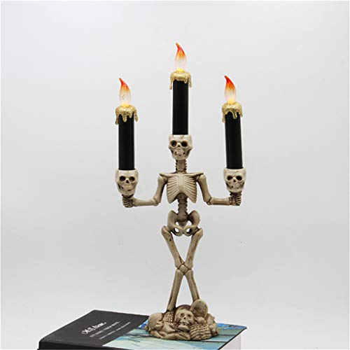 Candle Light, Chshe TM, Halloween Candle Terror Skull