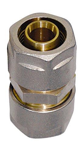 WIROFLEX , Rohr-Kupplung inklusive Adaptern , Klemmring , Komplettlösung , Schraubsystem , Fitting , 26 x 26 mm
