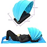 Best Summer Infant Beach Tents For Babies - MX Portable Sunshade Sun Protection Personal Tent Foldable Review