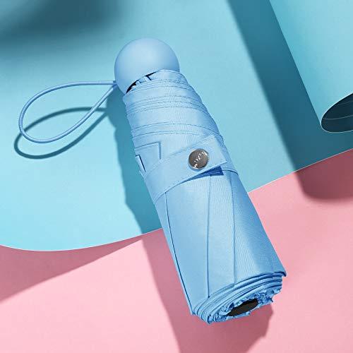 Jungen Knochen (Taschenschirme,Regenschirm Ausmalen Regenschirm Sturmfest Gro?Regenschirm 3M Regenschirm Gro? Wei?Knirps Regenschirm Kinder Jungen Kinder Reblau Fünffach Acht Knochen)