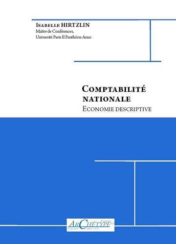 Comptabilité nationale : Economie descriptive