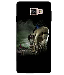 Citydreamz Lord Shiva Hard Polycarbonate Designer Back Case Cover For Samsung Galaxy A5 2016 Edition