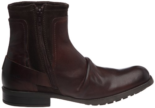Base London Magnet, Boots homme Marron (Waxy suede bordo)