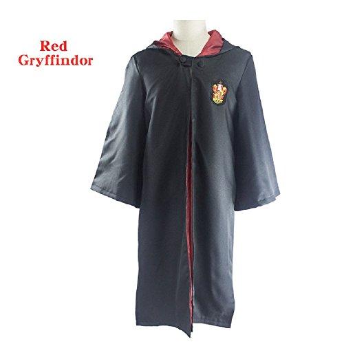 Harry Potter Gryffindor Schulrobe Mantel Zaubermantel Umhang Größe (Hermine Kostüm Zubehör Granger)