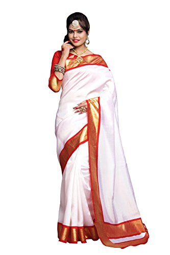 Applecreation Women's bhagalpuri silk saree (printed sarees_7PJ5007_FreeSize)