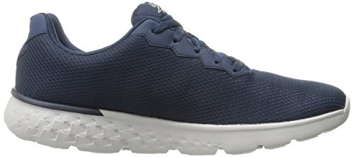 Skechers Go Run 400, Chaussures Multisport Outdoor Homme Bleu marine/gris