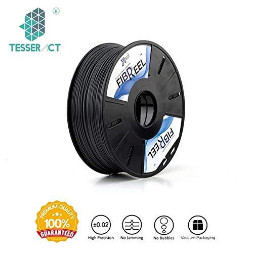 Tesseract 1.75mm ABS Premium 3D Printing Filament 1Kg (Black)