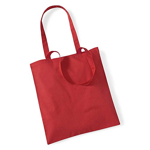Westford Mill Shopping Bag For Life. Bright Red