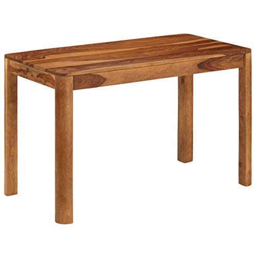 vidaXL Massives Sheesham-Holz Esstisch 120x60x76cm Küchentisch Esszimmertisch