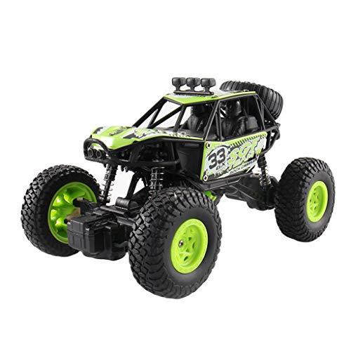 LCLrute 1:20 Scale RC Auto Off Road Fahrzeug 2.4G Funkfernsteuerung Autorennen Monstertruck Ferngesteuert Auto Rennbuggy Fahrzeug Spielzeug Funkgesteuert Auto (Grün)