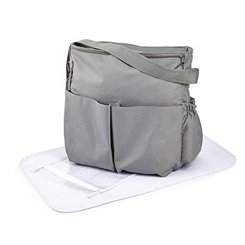 by Clair de Lune Clair de Lune Salisbury Changing Bag, Slate Grey