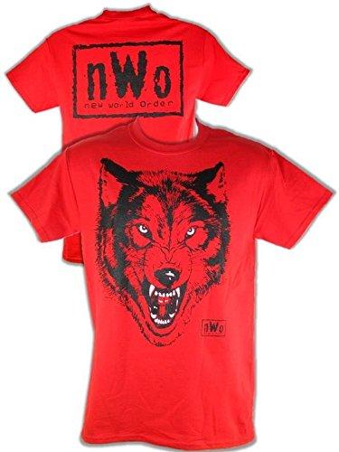 Unbekannt T-Shirt NWO Wolfpac Retro Bis 5XL !, Gr.:L - Nwo-t-shirt