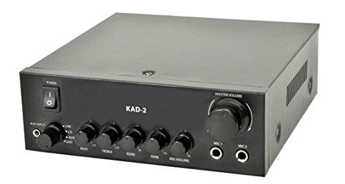 Amplificatore audio digitale stereo compatto kad2 classe d - 110 watt