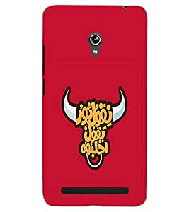 ASUS ZENFONE 6 A601CG BULL Back Cover by PRINTSWAG
