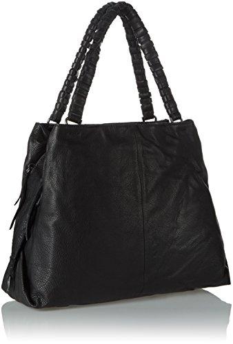 Liebeskind Berlin Damen Anjos Shopper, 42 x 30 x 16 cm Schwarz (ninja black 9998)