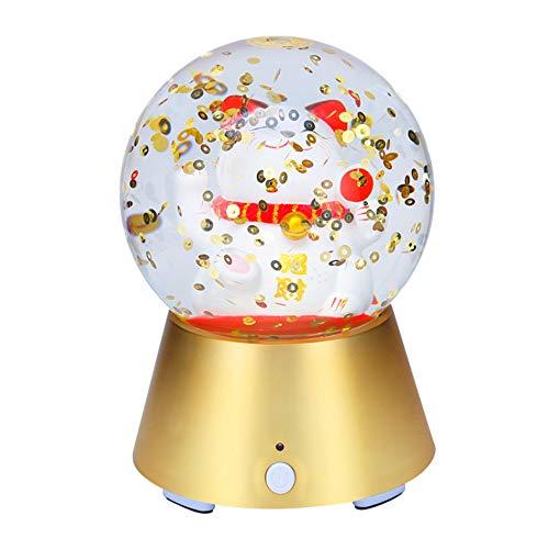 MYGIRLE LED Bluetooth Lautsprecher Nachtlicht Drahtloser Lautsprecher Beweglicher Drahtloser Bluetooth Lautsprecher LED Themen Für Party/Dekor / Zuhause/Reise (Reisen, Party Thema)