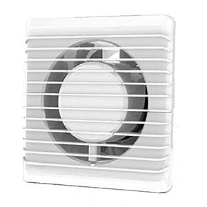 Standard-Abluftventilator 100mm für Bad und Küche mit niedrigem Energieverbrauch, leiser Betrieb