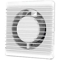 Plumbing4home Aspirateur 100millimètres extraction ventilation standard de silence pour salle de bain, cuisine, à faible consommation d'énergie