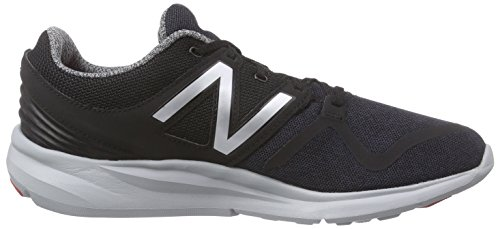 New Balance 487871-60, Running Homme Noir (Black/Silver/064)