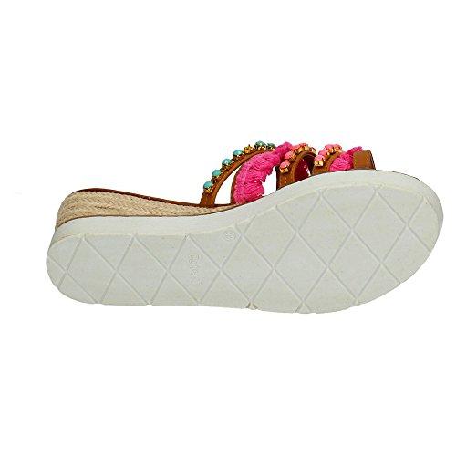 Refresh , sandales femme Camel