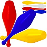 Jac Products Flare Pro Jonglierkeulen 3er Set Keulenjonglage (Blau/Gelb/Rot)